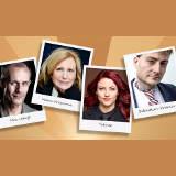Bayerischer Kabarettpreis 2020 PreisträgerInnen - © Dominic Reichenbach, Mirjam Knickriem, Guido Schroeder, Christian Biadacz