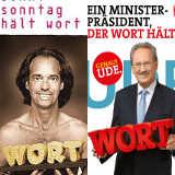 Christoph Sonntag (links) und Christian Ude halten Wort - © Christoph Sonntag und platzlzwei.com