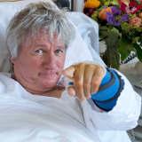 Jürgen Becker im Krankenhaus in Hamburg und doch bei den Mitternachtsspitzen - © Thorsten Jander WDR