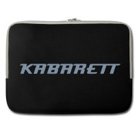 Kabarett Notebook Tasche - jetzt im Kabarett-Fanshop bestellen