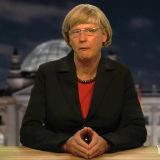 Reiner Kröhnert als Angela Merkel - © Reiner Kröhnert