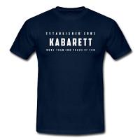 Herren T-Shirt 'Kabarett established 1901' - jetzt im Kabarett-Fanshop bestellen